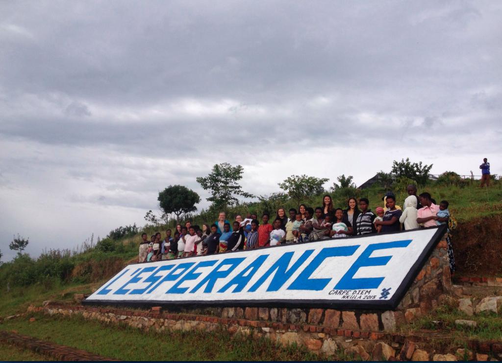 Lesperance Rwanda Sign